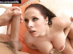 Amazing american bitch with wide pussy