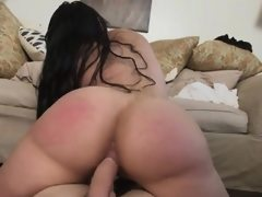 Wild bitch maid carmen goes down with..