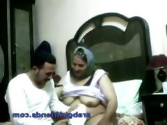 Horny arab couple caught fucking by..