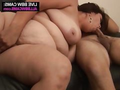 Young huge tits brunette bbw..