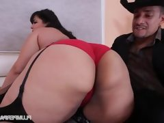 Sexy plump latina karla lane dance and..
