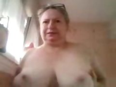 French bbw martine sucking her ni