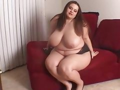 Bbw gets her first slutty interview