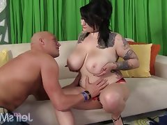 Sexy fat-girl scarlet lavey gets fucked