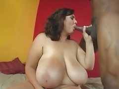 Big stacked bbw fucked from bbc after..