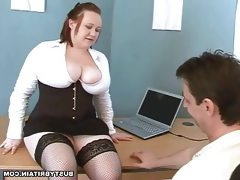Big tits boss nikki punishes porn..