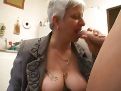 Murielle a chubby french mature in a..