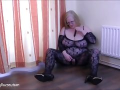 Playing in my bodystocking