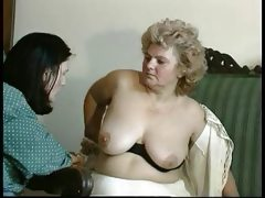 Granny award hairy bbw mature with a..
