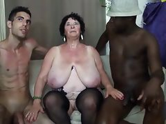 French bbw 65yo granny olga fucked by..