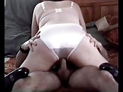 Passive wife creampie panties