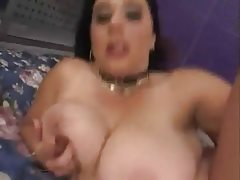 Big titted bbw tanya gets her hairy..